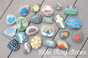 bible story crafts for how to make bible story stones intentional by grace