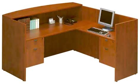 Front Counter Desk by Pl169 180 107 2 Bow Front Desk Workstation With Reception