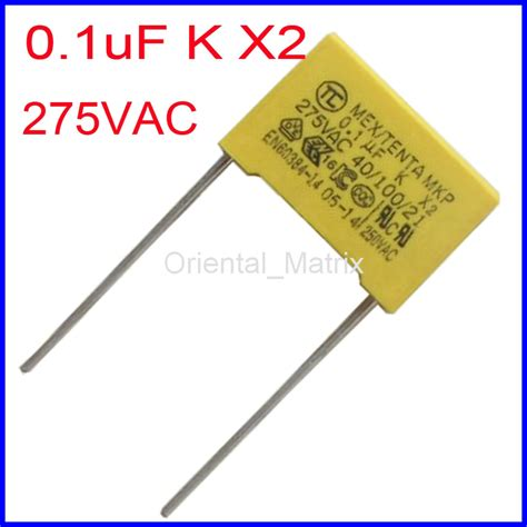 capacitor code for 0 1uf 275v 104 0 1uf mex x2 mkp 0 1uf k safety capacitor in capacitors from electronic components