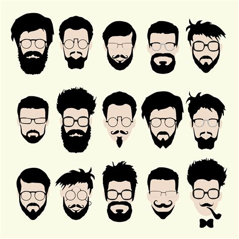 how to choose the right beard according to your face shape how to pick the best beard trimming style for your face