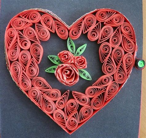 heart quilling pattern 1148 best quilling corazones images on pinterest