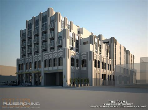 Deco Apartment Buildings Los Angeles Building Los Angeles The Palms An Deco Throwback
