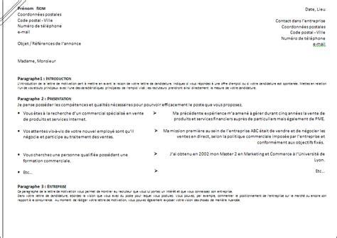 Modèle Cv Mise En Page by Presentation Lettre De Motivation Employment Application