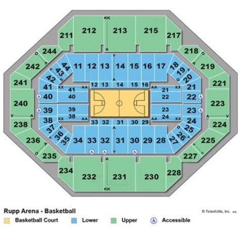 seating chart rupp arena vipseats rupp arena tickets
