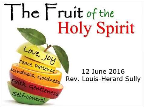 6 fruits of the holy spirit the fruit of the holy spirit