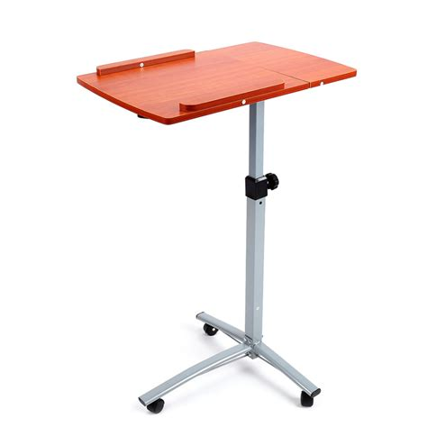 portable laptop desk stand adjustable portable height notebook desk bed sofa work computer table stand convenient