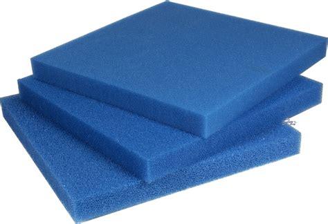 Mat Foam by Ppi Filter Foam Mat Blue 50x50x10 Cm