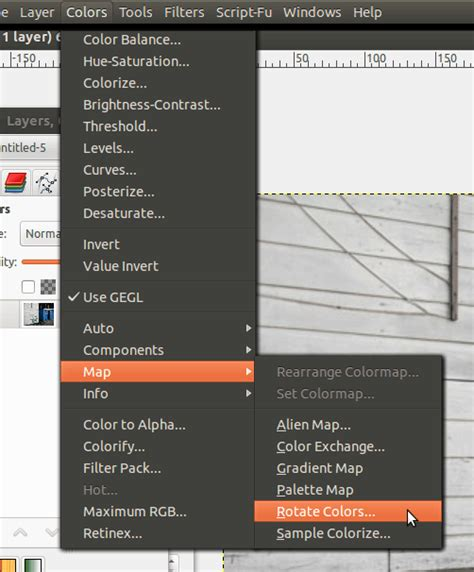 gimp replace color tutorial gimp how to replace a color infofreund