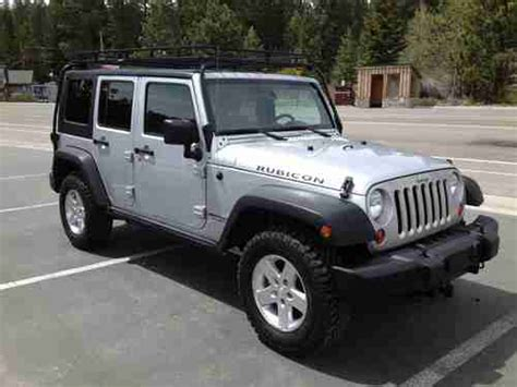 2009 Jeep Rubicon For Sale Find Used 2009 Jeep Wrangler Unlimited Rubicon Sport