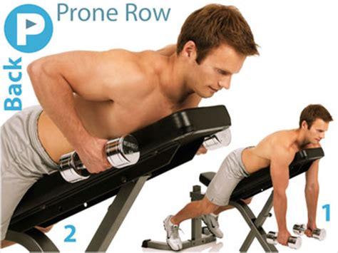 prone bench row 60 days with nat jones part 29