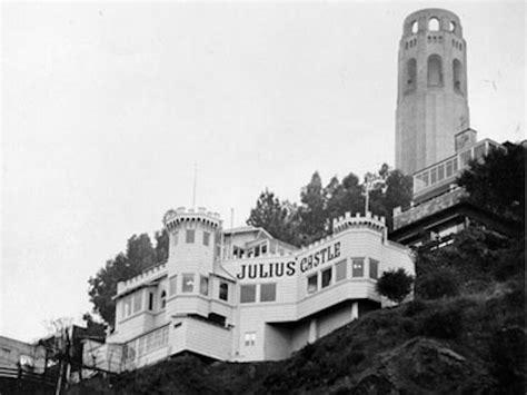 castle san francisco telegraph hill landmark julius castle restaurant to
