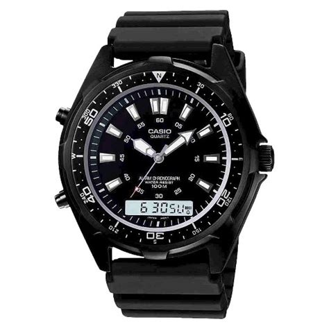digital dive s casio analog digital dive style stainless steel