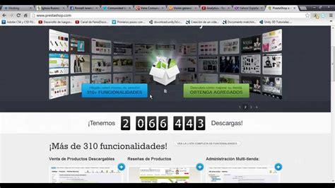 tutorial prestashop youtube tutorial 1 prestashop tu propio negocio en internet youtube