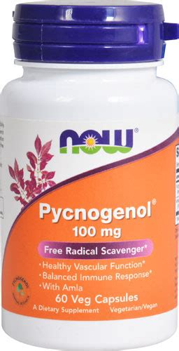 Extension Pygnogenol 100mg 60 Caps pycnogenol usa