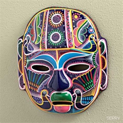 Global Views Home Decor by Mexican Mask Sephari S Travelers Collectibles By