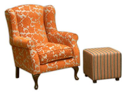 Reupholster Wingback Chair by Fabric Maven How To Reupholster A Wingback Chair