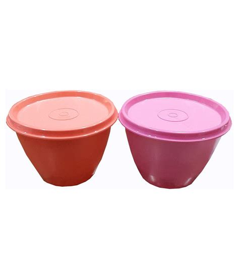 Insulated Bowl 500 Ml Tupperware tupperware orange pink bowl 500ml buy at best price in india snapdeal