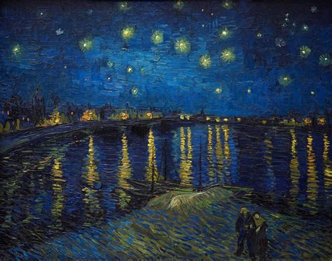 best painting first impressions van gogh vs real life getty images