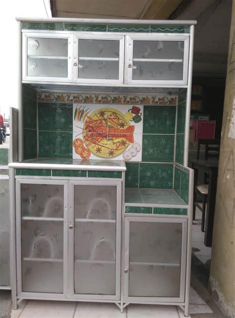 Rak Piring Baru jual lemari rak piring 3 tiga pintu aluminium keramik cantik murah meubel mebel jatake