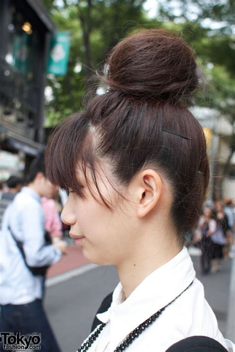 japanese hairstyles buns wego wonder rocket emon