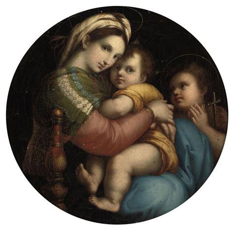 madonna della sedia after raffaello sanzio called raphael the madonna della