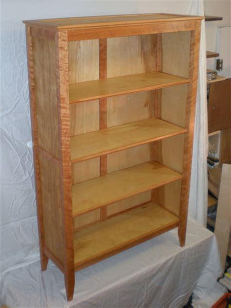 cherry and plywood bookshelf by dchip lumberjocks