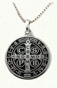 largest gold and enamel st benedict medal hubby do