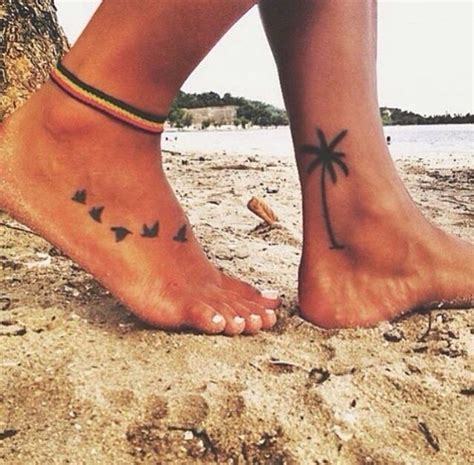 palm tree ankle tattoo 17 best ideas about palm tree tattoos on palm
