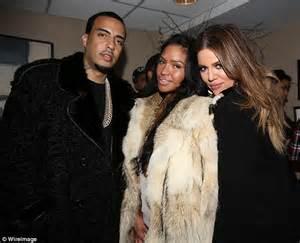 chinx drugz and malika rapper khloe kardashian parties backstage with french montana at