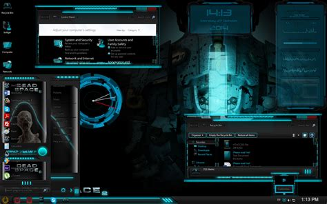 best themes games dead space custom windows 7 theme