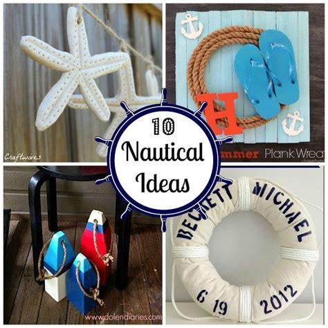 nautical diy crafts 10 nautical ideas martin o malley inspiration and diy