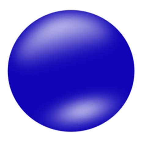color wheel  blue circle clipart