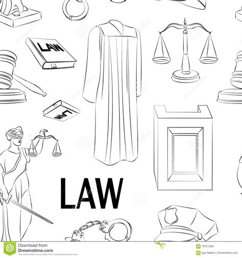 paper pattern law ipcc law hand drawn pattern stock vector image 70721256