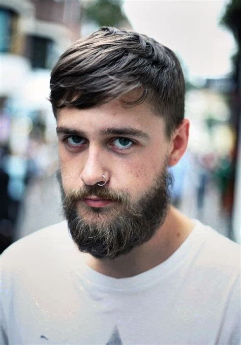 hairstyles that go with beards haircuts that go with beards hairstylegalleries com