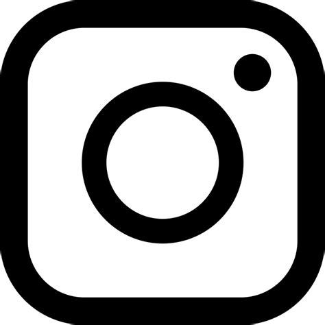 black instagram instagram icon black and white www pixshark com images