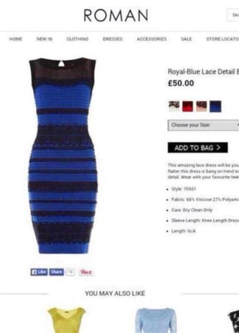 color of the dress solved this is the true colour of that goddamn white and gold dress gizmodo uk