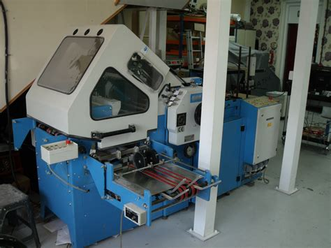 Used Paper Folding Machine - folders used finishing machines used guk k49 4 paper