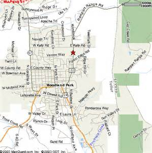 woodland park colorado map woodland park co pictures posters news and on