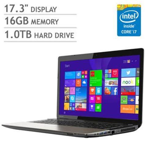 toshiba satellite s75 laptop 17 3 inch 1920x1080 display i7 4710hq processor 2 5ghz