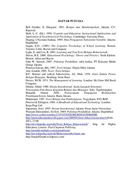 Theories Of Learning Teori Belajar Edisi Ketujuh Br Hergenhahn teori belajar operant
