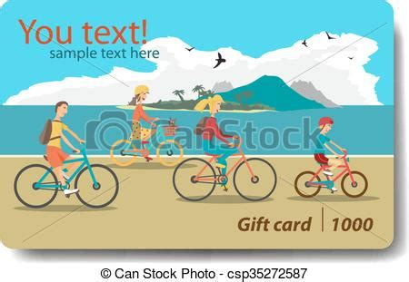 Cheap Gift Cards For Sale - vector of summer sale discount gift card branding design for travel csp35272587