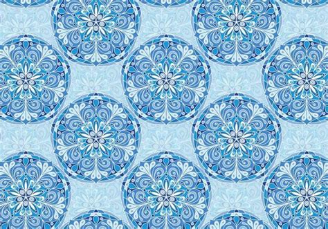 blue mandala pattern blue vector colorful mandala pattern download free