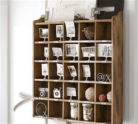 Cubby Organizer Wall Shelf by Cubby Organizer Stain Pottery Barn