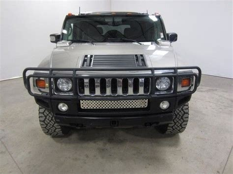 purchase used 03 hummer h2 4x4 6 0l v8 auto roof rack
