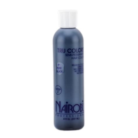 nairobi hair products review nairobi tru colors semi permanent hair color 1 pure
