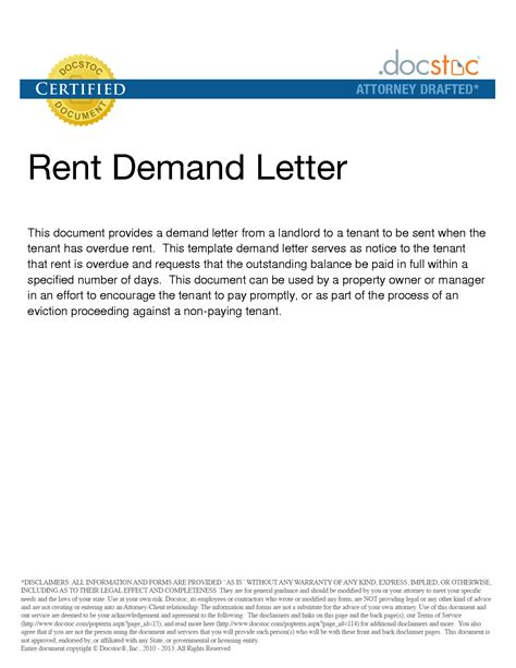 Demand Letter Rent In Arrears Best Photos Of Landlord Demand Letter Deposit Demand Letter Exle Security Deposit Demand