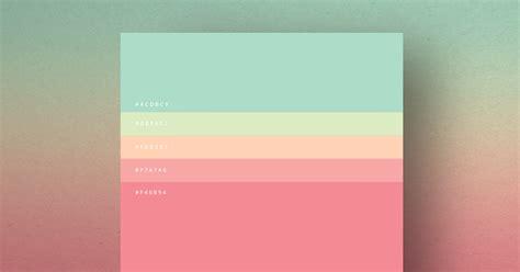 popular colors   shown   simple palettes