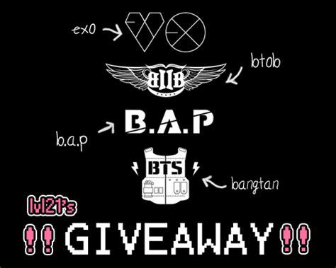 Kpop Giveaway - giveaway kpop bts exo exo m exo k kpop giveaway bap b a p btob bangtan lesa ilysfm
