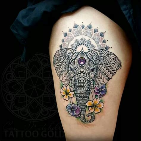 tattoo mandala tribal elephant tribal tattoo tattooz pinterest tattoo