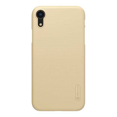 nillkin matte phone for iphone xr gold